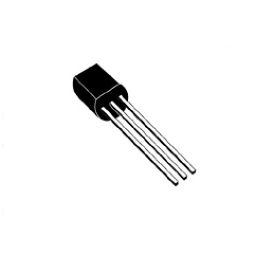 BC546 NPN 80V, 0.1A, 0.5W, 300MHZ, TO92