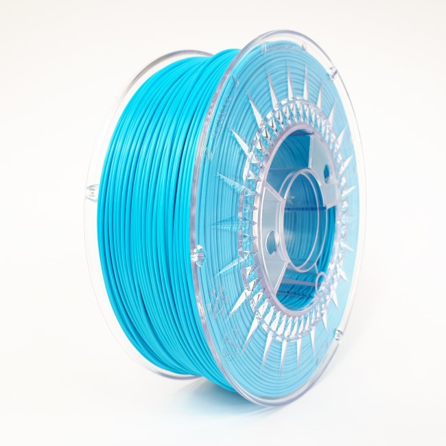 FILAMENTO PLA 1.75MM CARRETE 1KILO COLOR AZUL (DEVIL) HQ