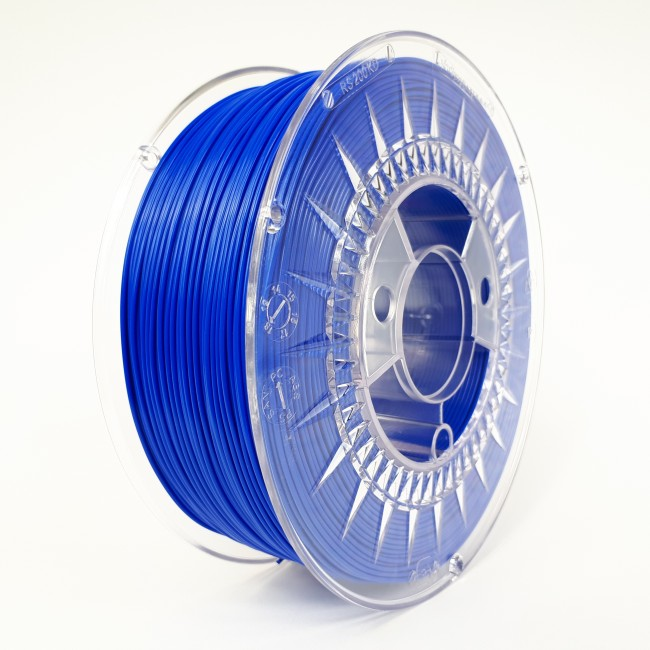FILAMENTO PLA 1.75MM CARRETE 1KILO COLOR SUPER AZUL (DEVIL) HQ
