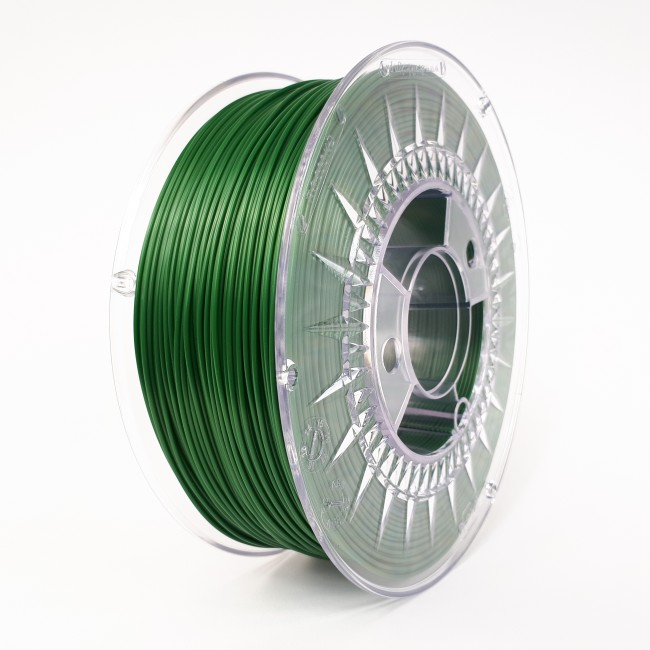 FILAMENTO PLA 1.75MM CARRETE 1KILO COLOR  VERDE (DEVIL) HQ