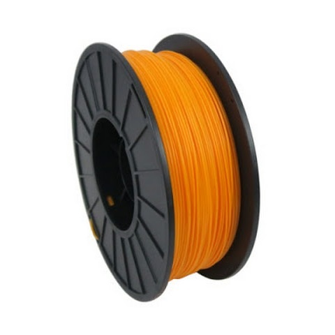 FILAMENTO ABS 1.75MM CARRETE 1KILO COLOR NARANJA
