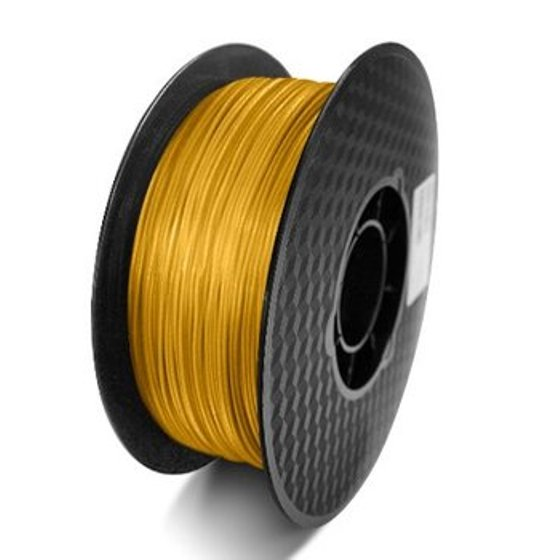 FILAMENTO ABS 1.75MM CARRETE 1KILO COLOR ORO