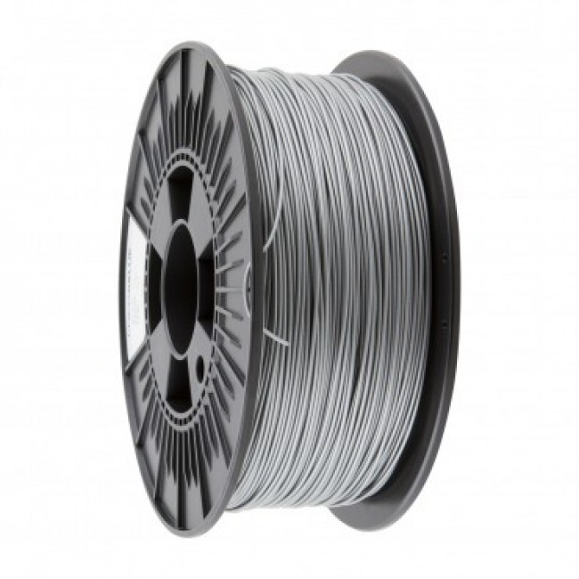 FILAMENTO ABS 1.75MM CARRETE 1KILO COLOR PLATA