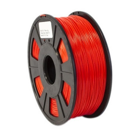 FILAMENTO ABS 1.75MM CARRETE 1KILO COLOR ROJO