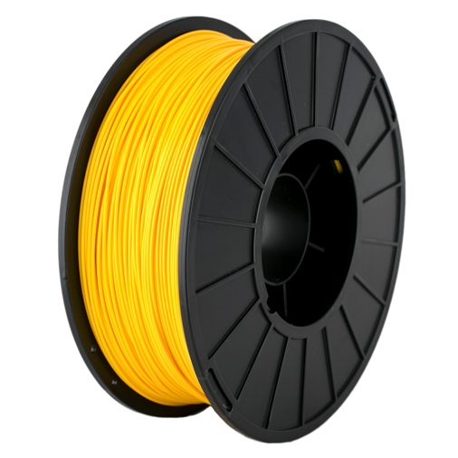 FILAMENTO PLA 1.75MM CARRETE 1 KILO COLOR AMARILLO ALTA DENSIDAD