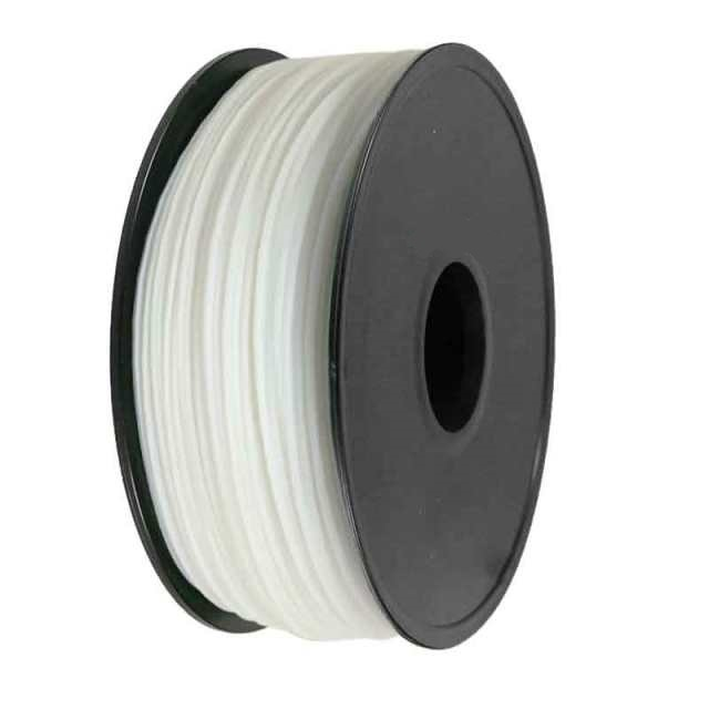 FILAMENTO PLA 1.75MM CARRETE 1 KILO COLOR BLANCO ALTA DENSIDAD
