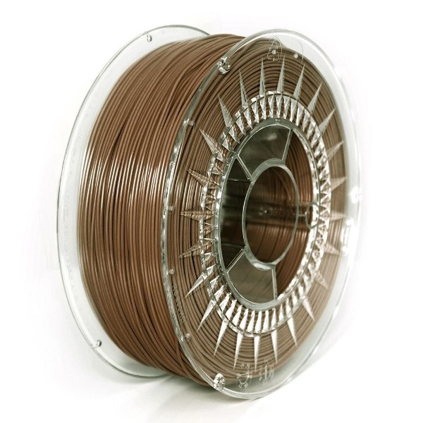 FILAMENTO PLA 1.75MM CARRETE 1 KILO COLOR MARRON ALTA DENSIDAD