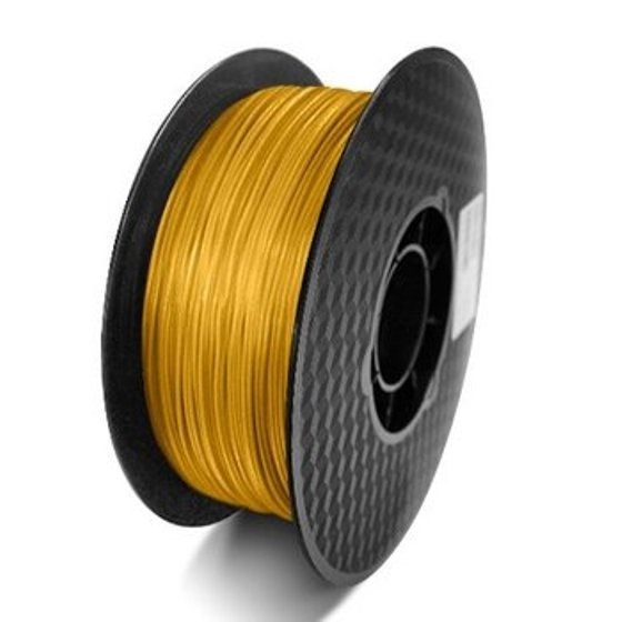 FILAMEMTO PLA 3MM CARRETE 1KILO COLOR ORO