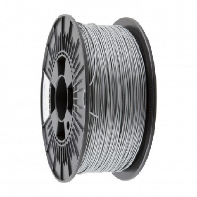FILAMEMTO PLA 3MM CARRETE 1KILO COLOR PLATA