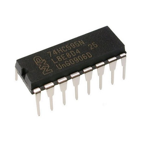 8-BIT SERIAL-IN/SERIAL OR PARALLEL-OUT SHIFT REGISTER WITH OUTPUT LATCHES; 3-STATE