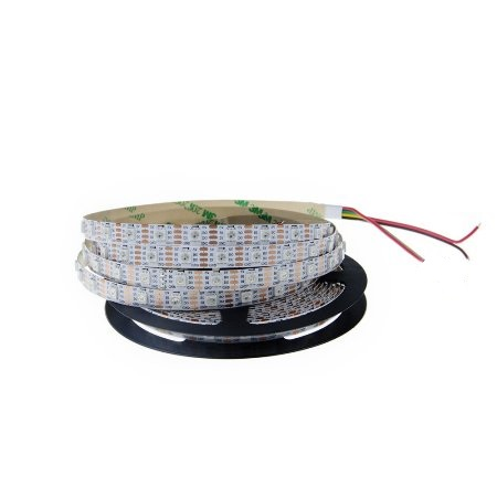 SMD5050 WS2813B RGB TIRA LED INTELIGENTE 60LED/MT DC:5V 18W/MT, IP20