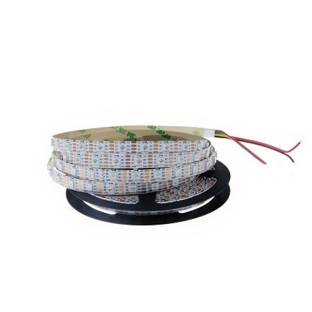 SMD5050 WS2813B TIRAS LED INTELIGENTE 60LED/MT DC5V 18W/MT, IP65 RGB