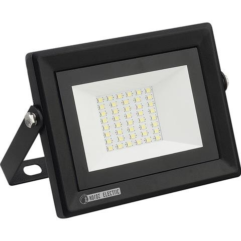 PROYECTOR PLANO LED SMD 30W, 6500K, 120º,  IP65