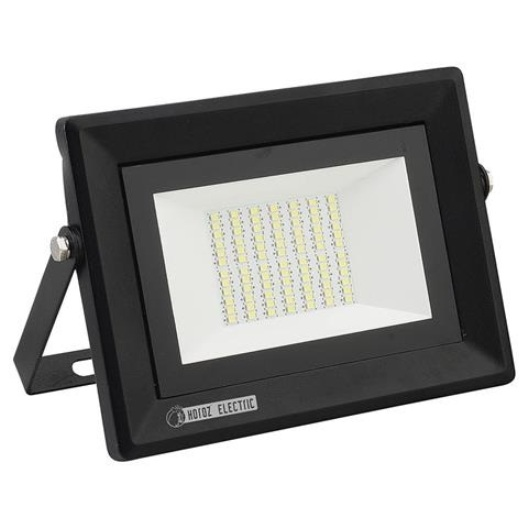 PROYECTOR PLANO LED SMD 100W, 6500K, 5000LM, IP65