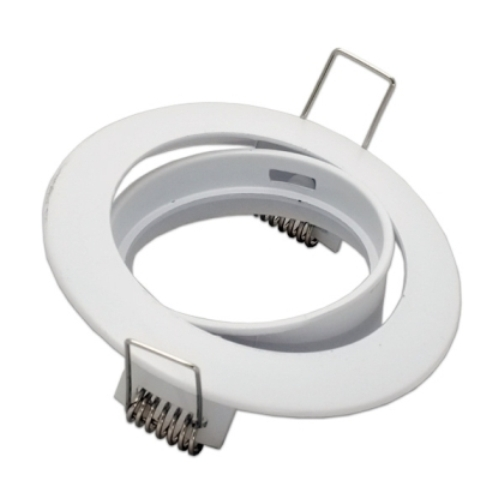 ARO BLANCO ORIENTABLE PARA DICROICAS LED 50MM