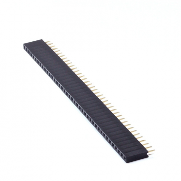 TIRA PINES HEMBRA 1X40 PIN DE 2.54MM