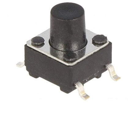 (L:7.0MM) DC12V-50MA PULSADOR TACTO SMD 6X6MM