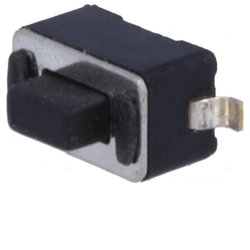 (L:5MM) DC 12V|50MA  PULSADOR DE TACTO 3X6MM