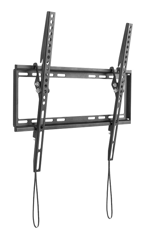 "SOPORTE DE PARED LED NEGRO INCLINACION +8º 32""-55"" VESA: 400X400MM"