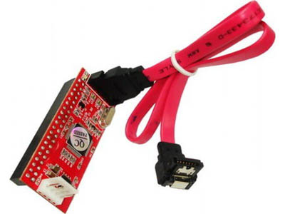 (OUT) CONVERTIDOR SATA A IDE CON CABLE