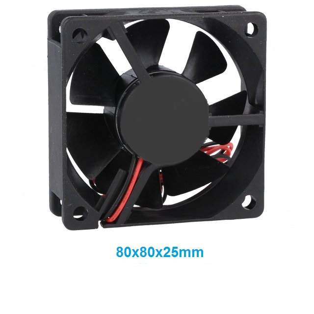 80X80X25MM DC5V VENTILADOR FRICCION 0.32A