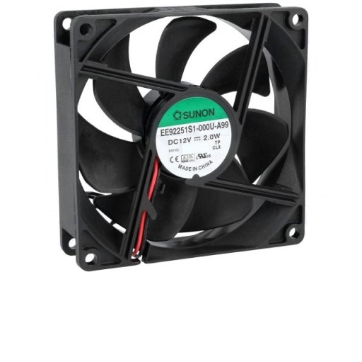 96X96X25MM DC12V VENTILADOR FRICCION 87M3, 34DB
